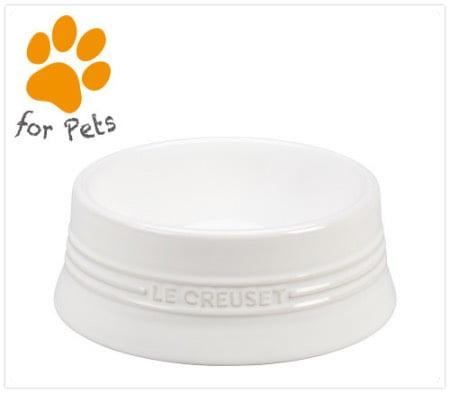 ル・クルーゼの大型犬用食器