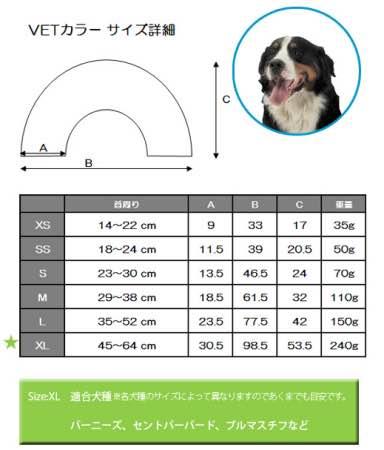 ファンタジーワールド エリザベスカラー 大型犬