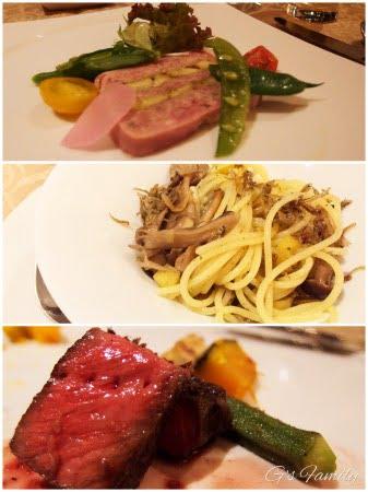軽井沢ジャルディーノ宿泊ブログ料理