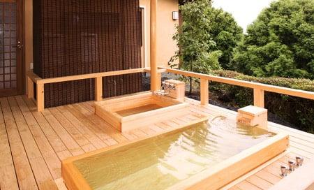 犬用檜風呂