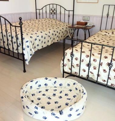 ラリーズカンパニーのベッドカバー