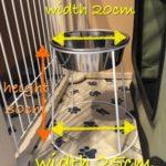 【大型犬の食器台】高さ30cmの食器スタンドで、楽に食事を。[使用感のまとめ]