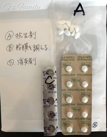 嘔吐下痢への動物病院の処方薬
