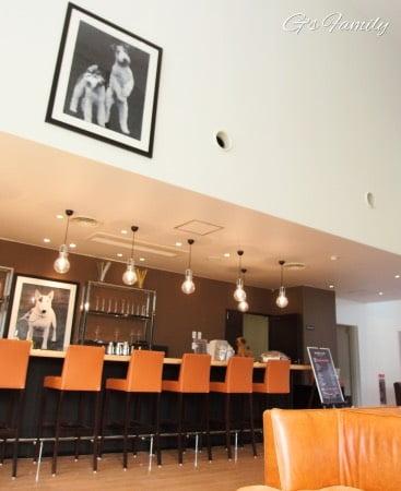 ホテルビワドッグのカフェ