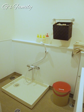 レジーナリゾート蓼科の足洗い場