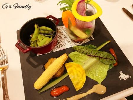 三浦海岸アレーナの夕食