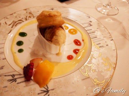 レジーナリゾート蓼科の夕食メニュー