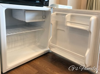 三浦海岸アレーナの冷蔵冷凍庫
