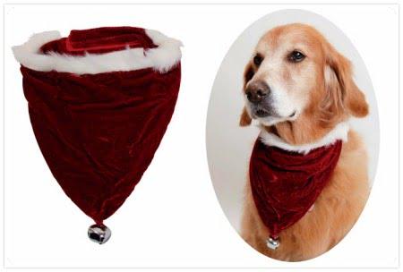 大型犬のクリスマスグッズ