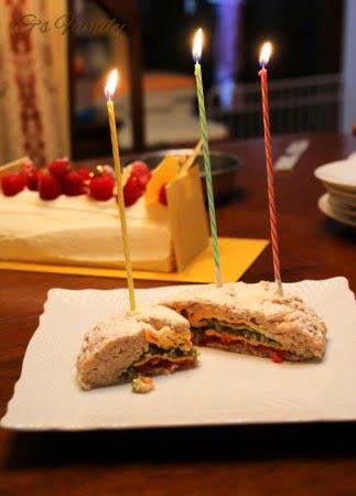 ゴールデン・レトリーバーセナ3歳の誕生日