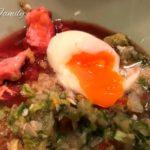 栄養満点な簡単温泉卵の作り方 & 失敗例[犬の手作りごはん]