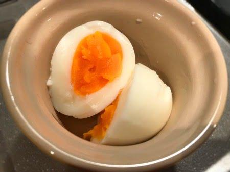 温泉卵の失敗