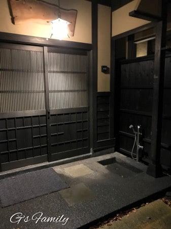 はんなり伊豆高原の部屋付きドッグシャワー
