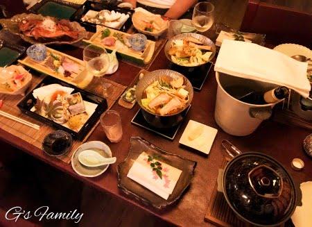 はんなり伊豆高原夕食