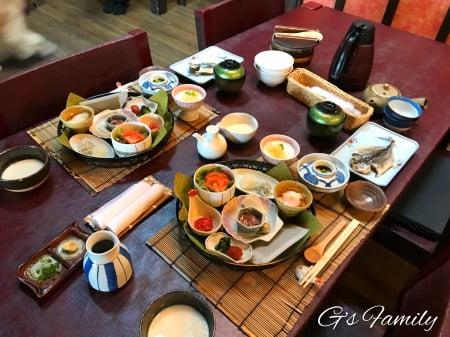 はんなり伊豆高原の朝食