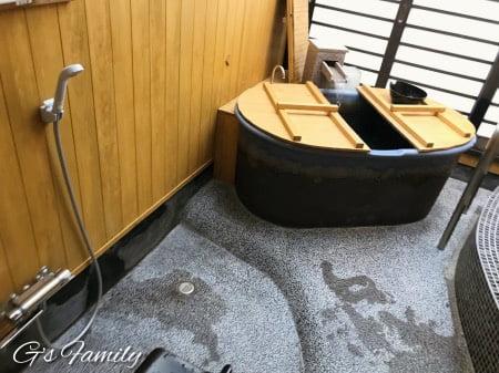 カーロリゾート鬼怒川湯わんのスイートルームのお風呂