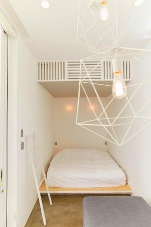THE CHIKURA UMI BASECAMP(千倉海ベースキャンプ)のB棟のベッドルーム