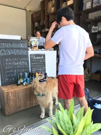 THE CHIKURA UMI BASECAMP犬とグランピングできる施設