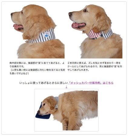 大型犬用クールバンダナ(クールネック)