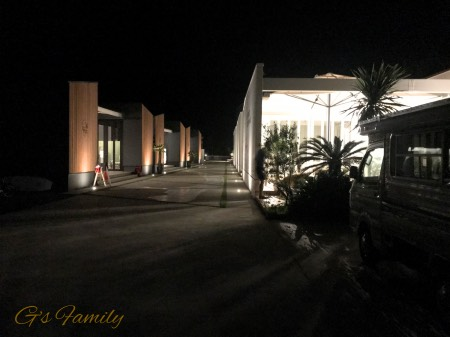 THE CHIKURA UMI BASECAMPの夜