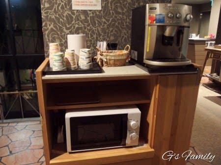 元箱根ルチアのコーヒーサービス