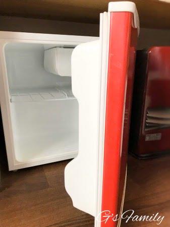 元箱根ルチアのお部屋備品(冷蔵庫)