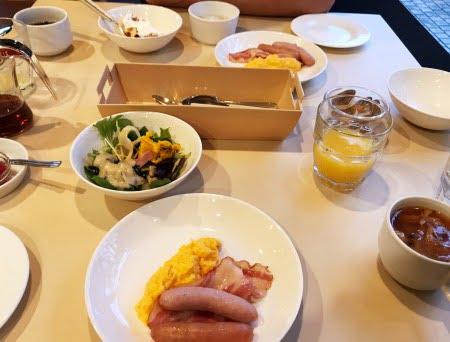 フォレストヒルズ那須の朝食