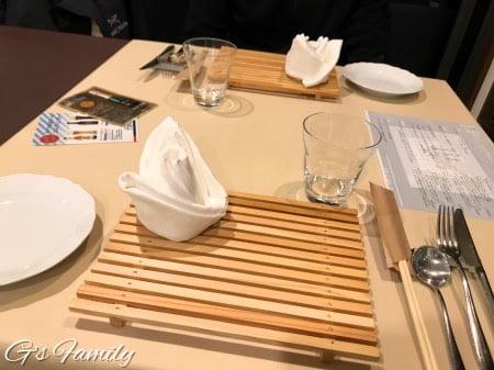 フォレストヒルズ那須の夕食
