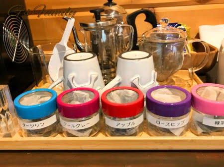 クラス・ザ・ウルフ(ロータス)で用意されている紅茶類