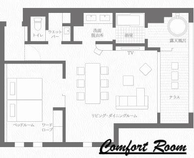 レジーナ箱根仙石原のコンフォートルーム