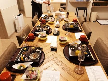 レジーナ箱根仙石原の部屋食(夕食)