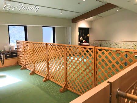 レジーナ箱根仙石原の室内ドッグラン