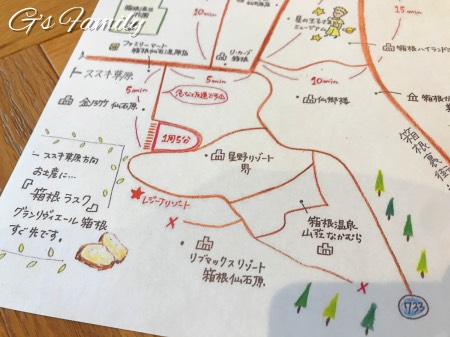 レジーナ箱根仙石原の周辺お散歩情報
