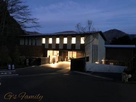 レジーナ箱根仙石原の外観