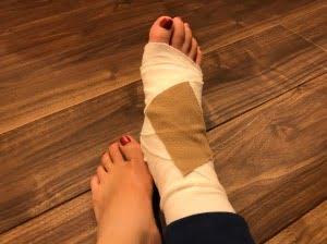 セナママの怪我