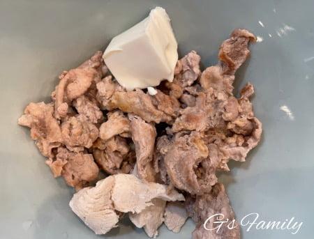 セナご飯に豆腐6歳3ヶ月
