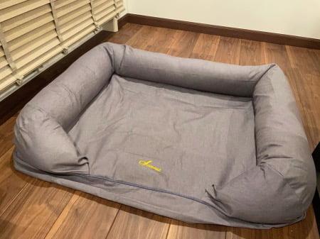 L.L.Bean(エルエルビーン)の「プレミアム・ドッグ・ベッド・カウチ」大型犬サイズの組み立て